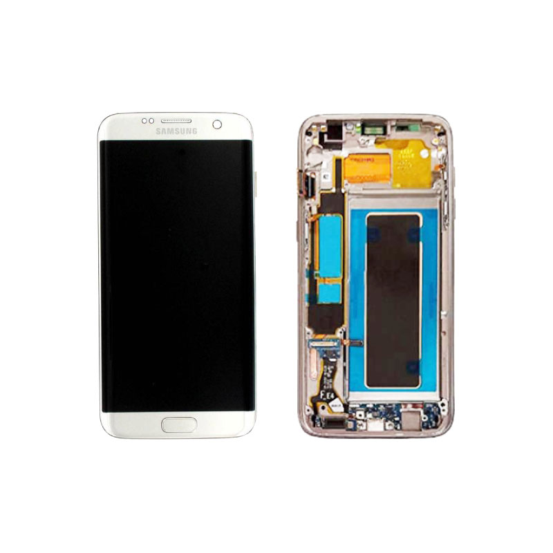 Galaxy S7 Edge G935 Service Pack LCD Display Replacement Silver