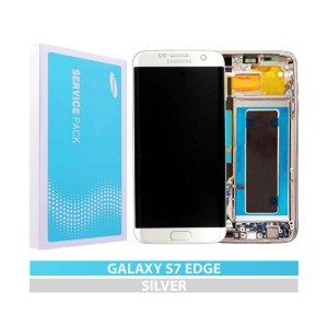Galaxy S7 Edge Service Pack LCD Display Replacement Silver
