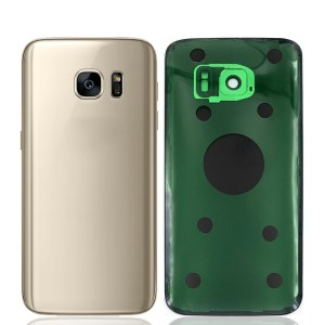 Galaxy S7 (G930) Rear Glass With Camera Lens – Gold