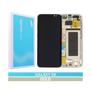 Galaxy S8 (G950F) Service Pack Display Replacement Gold