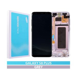 Galaxy S8 Plus G955 Service Pack LCD Display Replacement Orchid Gray/Violet