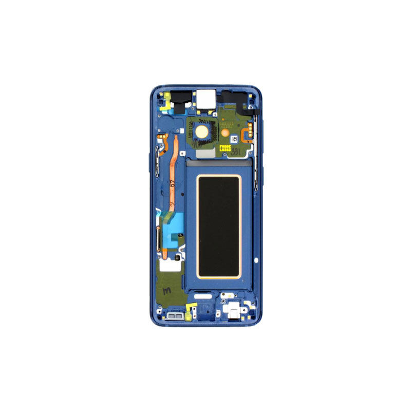 Galaxy S9 G960F Service Pack LCD Display Replacement Blue