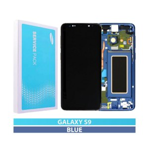 Galaxy S9 (G960F) Service Pack Display Replacement Coral Blue