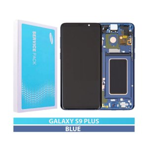 Galaxy S9 Plus G965F Service Pack LCD Display Replacement Blue
