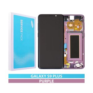 Galaxy S9 Plus G965F Service Pack LCD Display Replacement Purple