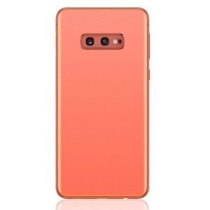 Galaxy S10e (G970) Rear Glass With Adhesive & Camera Lens – Flamingo Pink
