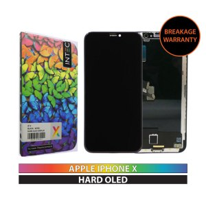 INTEC IPHONE X HARD OLED DISPLAY BLACK