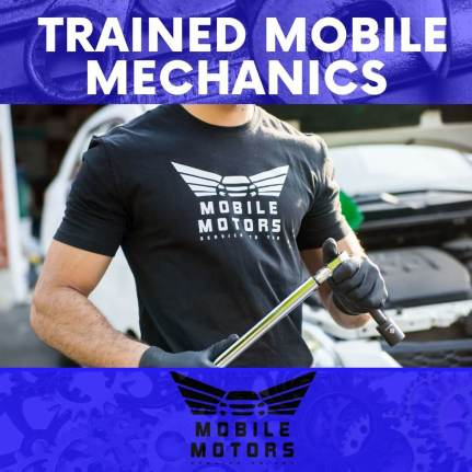 Mobile Motors Has trained Mobile mechanics. Our service Professionals Are Well Vetted and only the very best mechanics are provided to carry out the work required. In fact our Mobile Mechanics in Mississauga Come ready to tackle the job. Thankfully we have the Technology and tools to fix what they were called upon to do. Furthermore Our professionals will carry any recyclable and waste fluids and parts to our trusted (Environmental ) partners.
