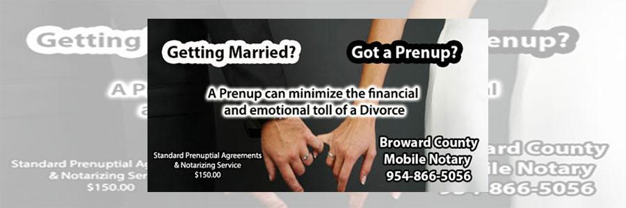 get a prenup in broward county