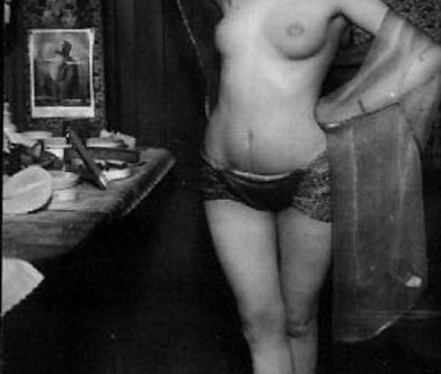 Several Sensual Vintage Ladies Showing It All Backstage