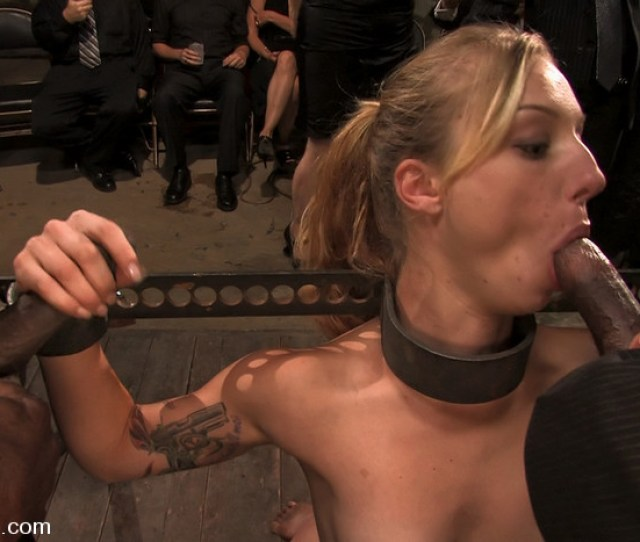 Amateur Girl Does Crazy Bondage Gangbang Where She Is Caned Flogged