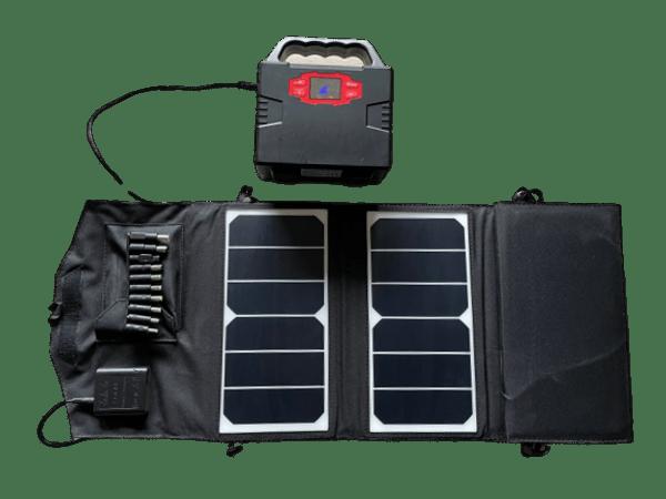 Strømbank-150-med-Solcellepanel