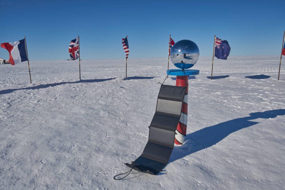 Bærbart Solkraftverk på Sydpolen