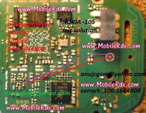 Nokia 105 Mic Problem Jumper Solution   MobileRdx