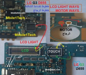 Lg G3 D855 Display Light Problem Jumper Ways | MobileRdx