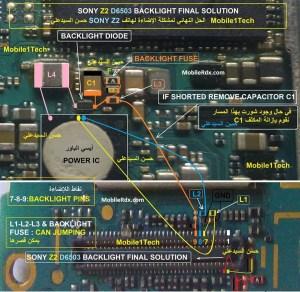 Sony Xperia Z2 D6503 Backlight Problem Final Solution