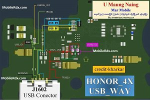 Huawei Honor 4X Charging Ways Solution Usb Jumper