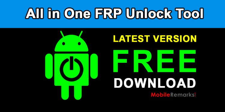 All in One FRP Unlock Tool Download