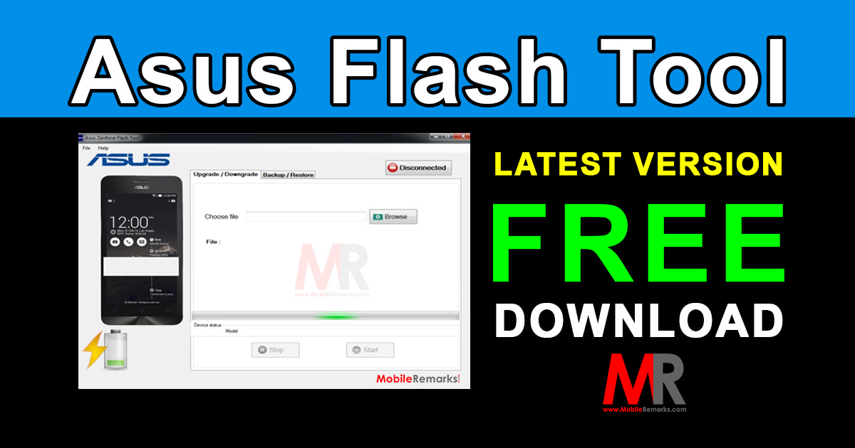 Asus Flash Tool Latest Version Download