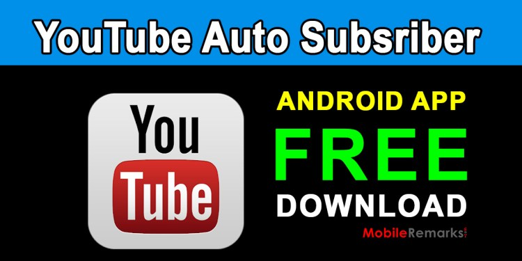 YouTube Auto Subscribers app free download