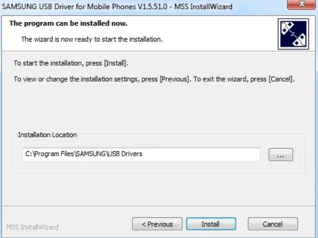 How to Install Samsung USB Driver installation method