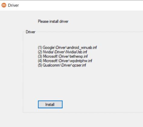 Inbuilt Drivers