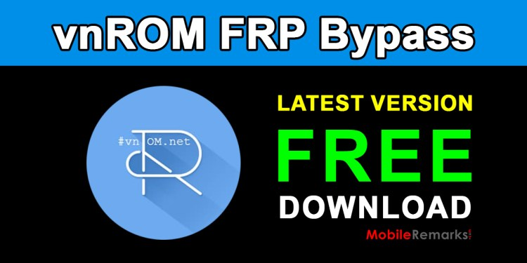 vnROM FRP Bypass Apk Free Download
