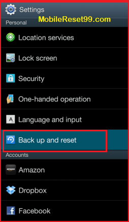 Micromax Backup and reset