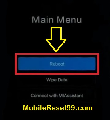 Mi Mobile Hard Reset - Any Redmi Android Mobile Reset