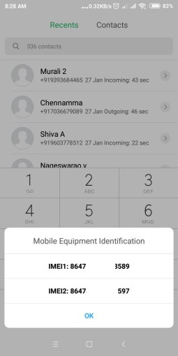 Display IMEI Android Code