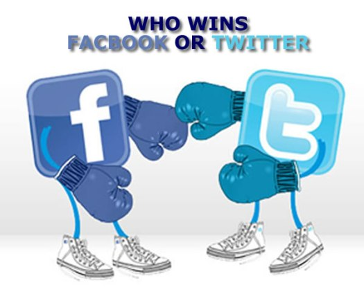 Facebook V Twitter