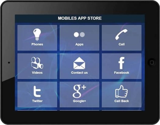 Mobile App Tablet