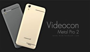 Grey and Gold VideoCon Metal Pro 2