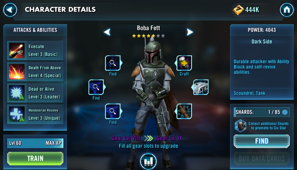 FAQ for Star Wars: Galaxy of Heroes |
