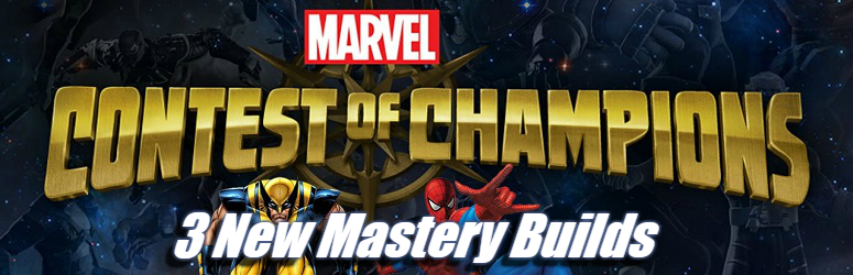 3 New Mastery Builds