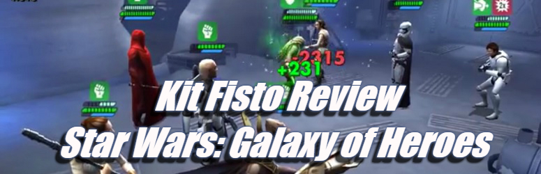 Kit Fisto Review - Star Wars: Galaxy of Heroes