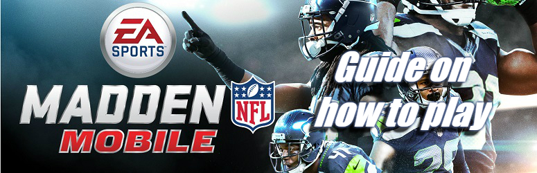 Guide on how to play Madden NFL Mobile