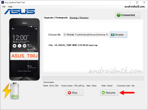 Asus Zenfone Flash Tool