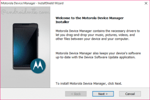 Motorola Device Manager (all versions)