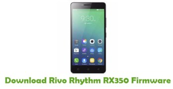 Rivo Rhythm RX350 Android 5.1 Firmware Flash File