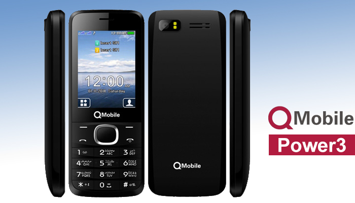 QMobile POWER 3 MT6261 Firmware Flash File