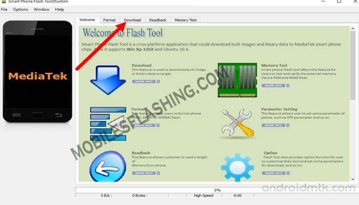How to Flash Stock Rom using Smart Phone Flash Tool