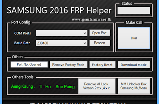 Samsung 2016 FRP Helper by [It Garden Team] (Asif.Kamboh.lucky)