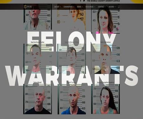 Felony Warrants