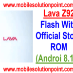 Lava Z92 Flash With Stock Rom {Flash File/Firmware Install}
