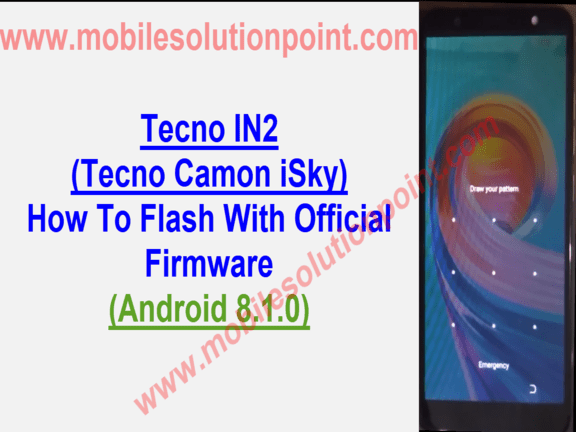 Tecno IN2 Flash File Download | Mobile Solution Point