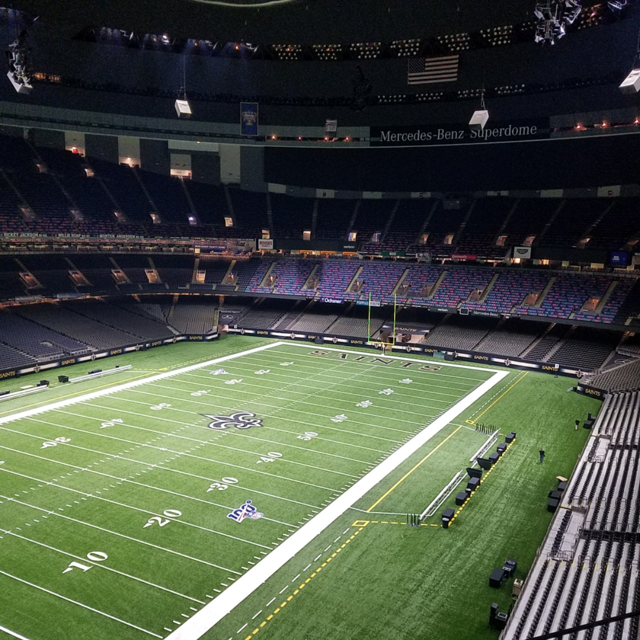 Plans were drawn up in 1967 by the new orleans modernist architectural firm of. Mercedes Benz Superdome S Wi Fi Upgrade Ready For College Championship Game