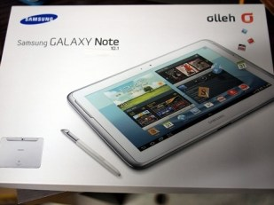 Galaxy Note 10.1 Box Front