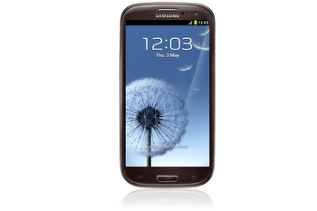 GALAXY S3 Amber Brown Front