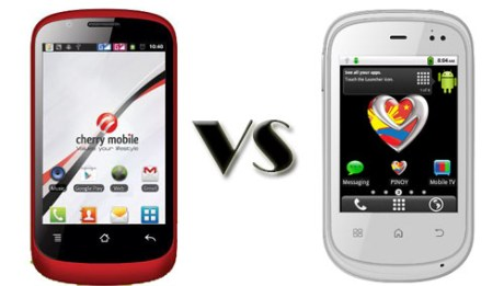 Cherry Mobile Candy TV vs MyPhone A618